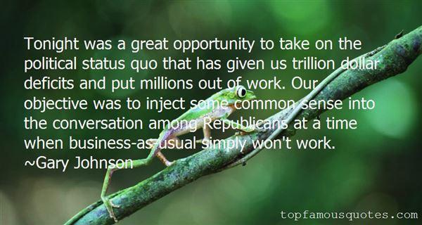 Gary Johnson Quotes
