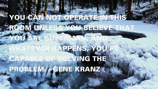 Gene Kranz Quotes
