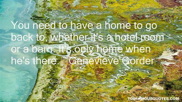 Genevieve Gorder Quotes