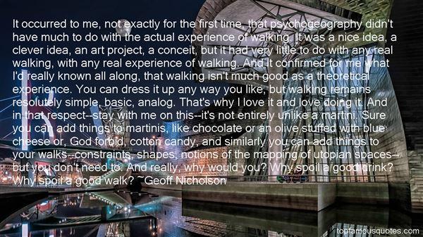 Geoff Nicholson Quotes