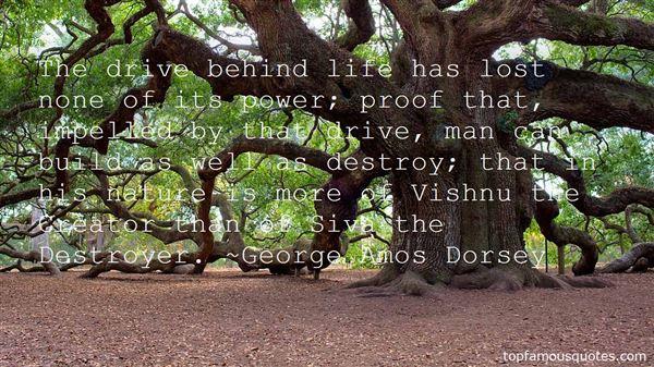 George Amos Dorsey Quotes