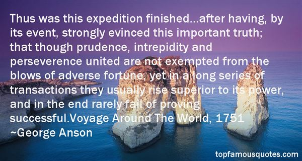 George Anson Quotes