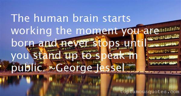 George Jessel Quotes