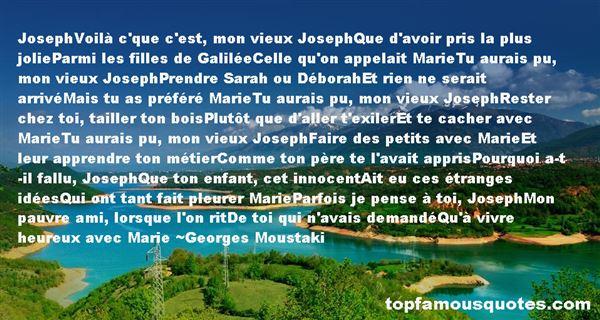 Georges Moustaki Quotes