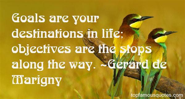 Gerard De Marigny Quotes