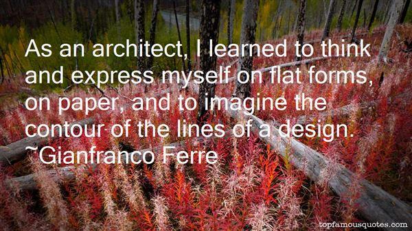 Gianfranco Ferre Quotes
