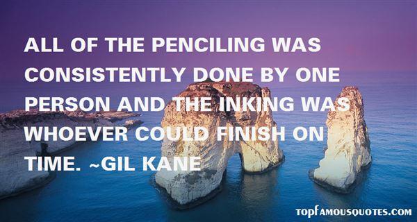 Gil Kane Quotes