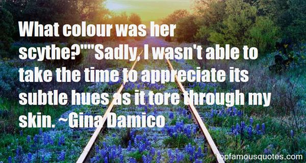 Gina Damico Quotes
