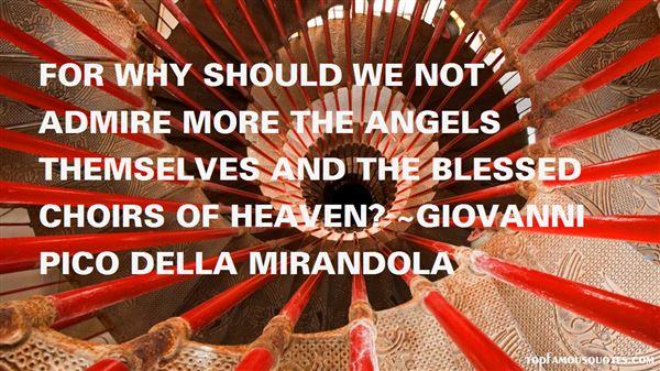 Giovanni Pico Della Mirandola Quotes