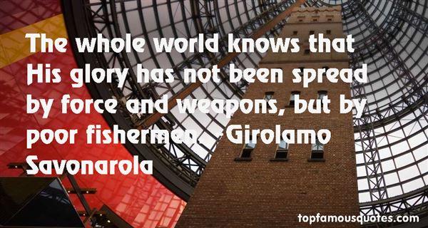 Girolamo Savonarola Quotes