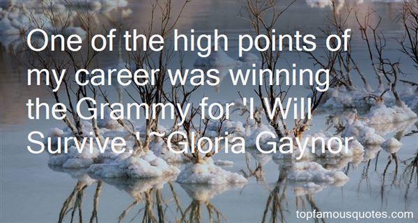 Gloria Gaynor Quotes