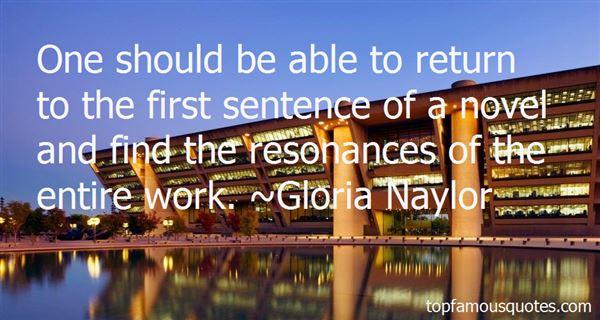 Gloria Naylor Quotes
