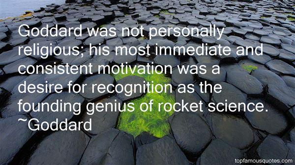 Goddard Quotes