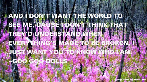 Goo Goo Dolls Quotes