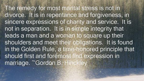Gordon B. Hinckley Quotes