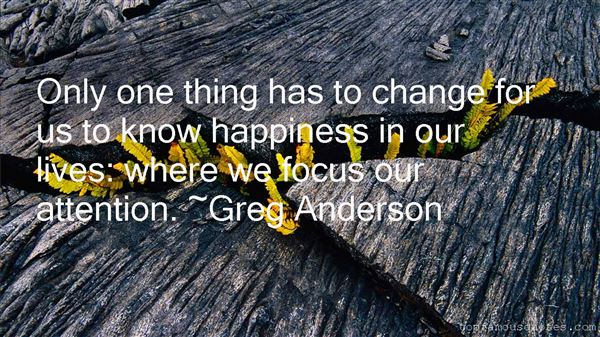 Greg Anderson Quotes