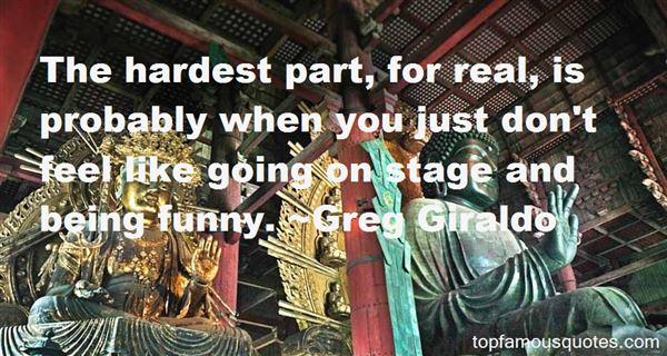 Greg Giraldo Quotes