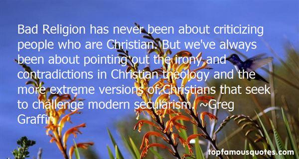 Greg Graffin Quotes