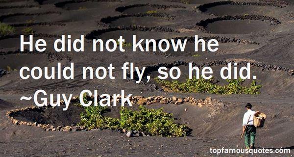 Guy Clark Quotes