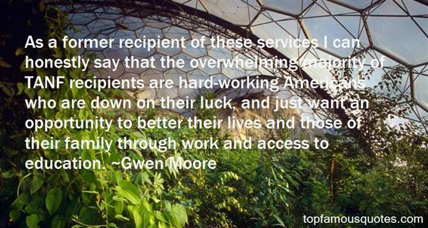 Gwen Moore Quotes