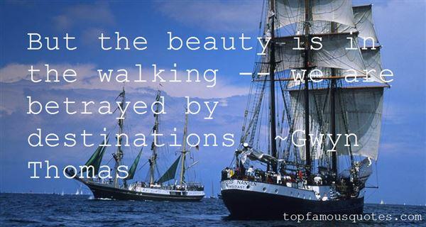Gwyn Thomas Quotes