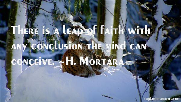 H. Mortara Quotes