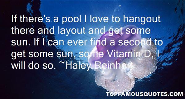 Haley Reinhart Quotes