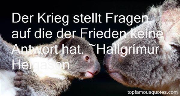 Hallgrímur Helgason Quotes