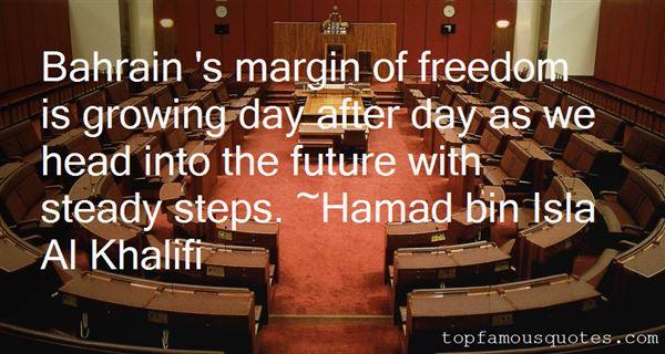 Hamad Bin Isla Al Khalifi Quotes