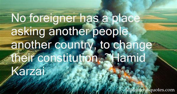 Hamid Karzai Quotes