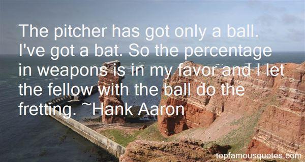 Hank Aaron Quotes