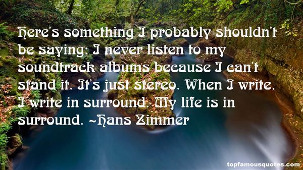Hans Zimmer Quotes