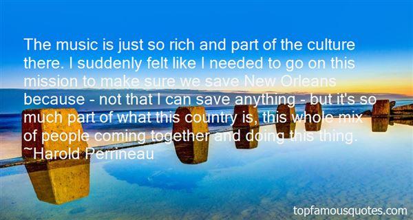 Harold Perrineau Quotes
