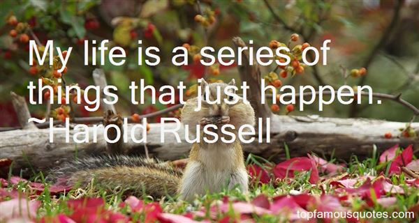 Harold Russell Quotes