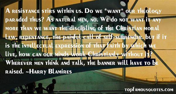 Harry Blamires Quotes