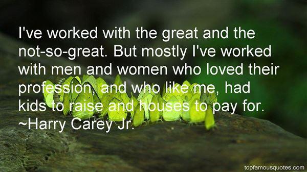 Harry Carey Jr. Quotes