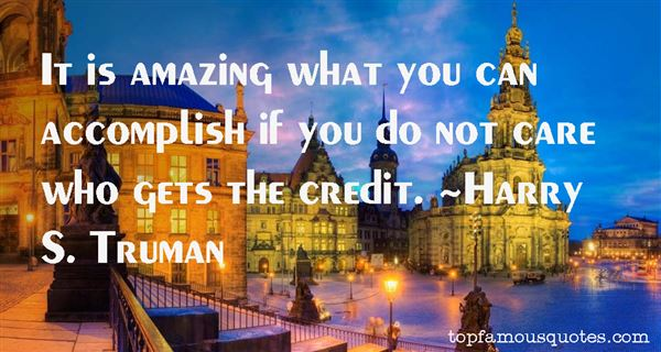 Harry S. Truman Quotes