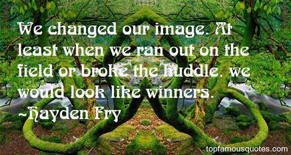 Hayden Fry Quotes