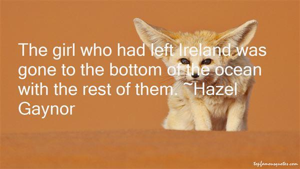 Hazel Gaynor Quotes