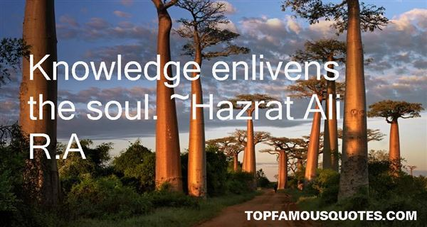 Hazrat Ali R.A Quotes