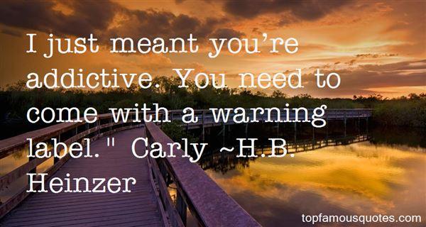 H.B. Heinzer Quotes