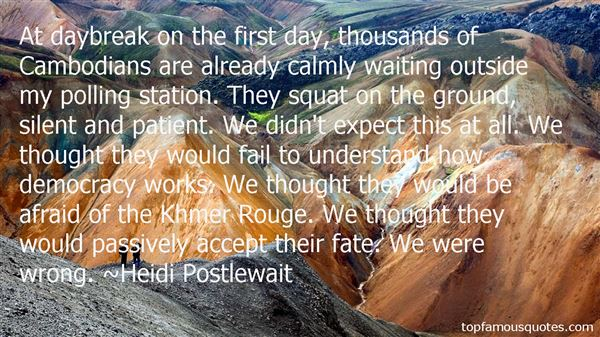 Heidi Postlewait Quotes