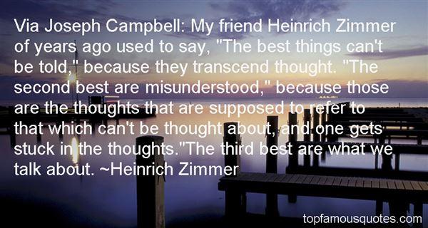 Heinrich Zimmer Quotes