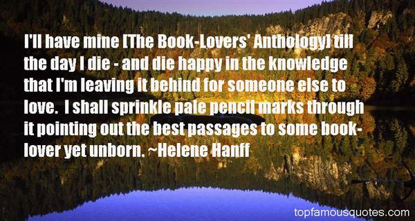 Helene Hanff Quotes
