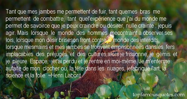 Henri Laborit Quotes