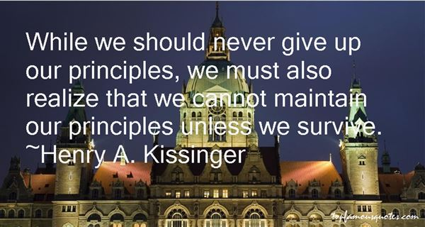 Henry A. Kissinger Quotes
