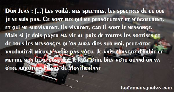 Henry De Montherlant Quotes