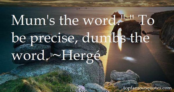 Hergé Quotes