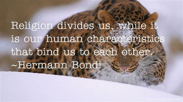 Hermann Bondi Quotes