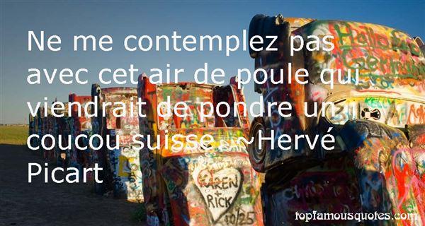 Hervé Picart Quotes